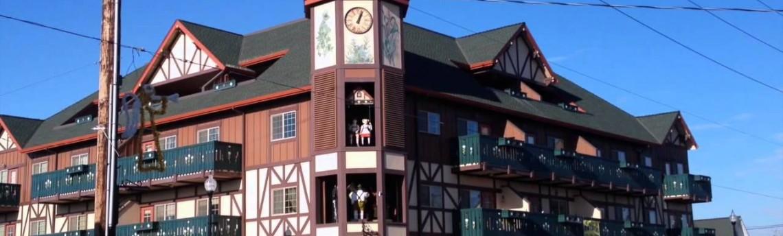 Mt. Angel Oregon Glockenspiel Roof