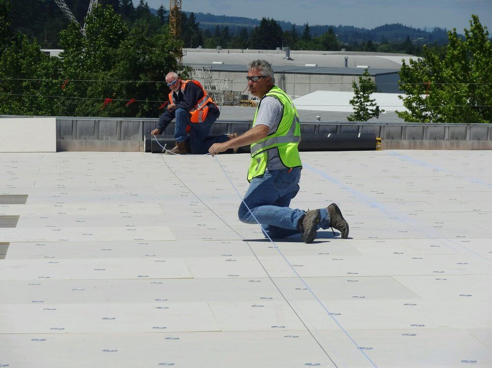 Roofing Crew from Slate & Slate Roofing
