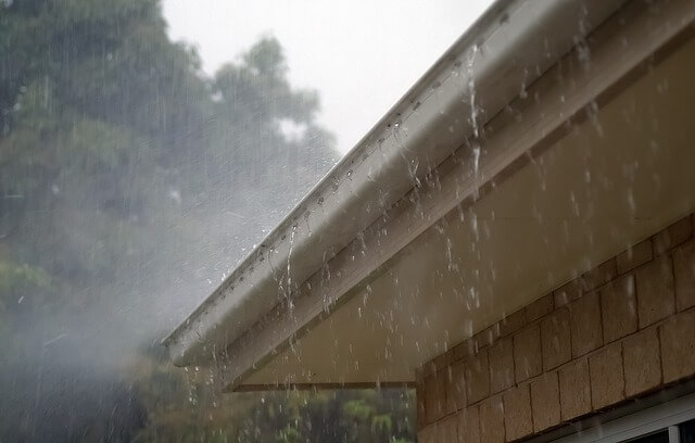 Clean Gutters to Prevent Rain Damage