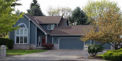 Residential composition roofing project in Dallas, OR, installed by Slate & Slate Roofing